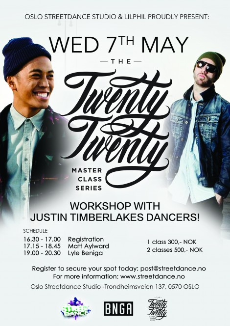 Workshop With Justin TImberlakes dancers